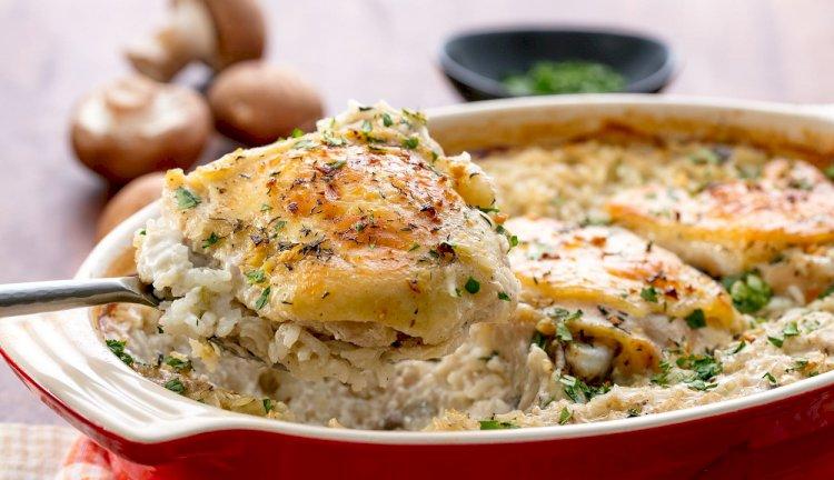 Lagana piletina sa pirinčem