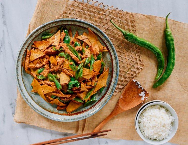 Kineski listovi tofua