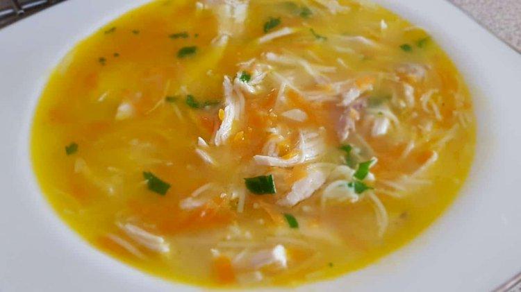 Čorba s piletinom - Turska kuhinja