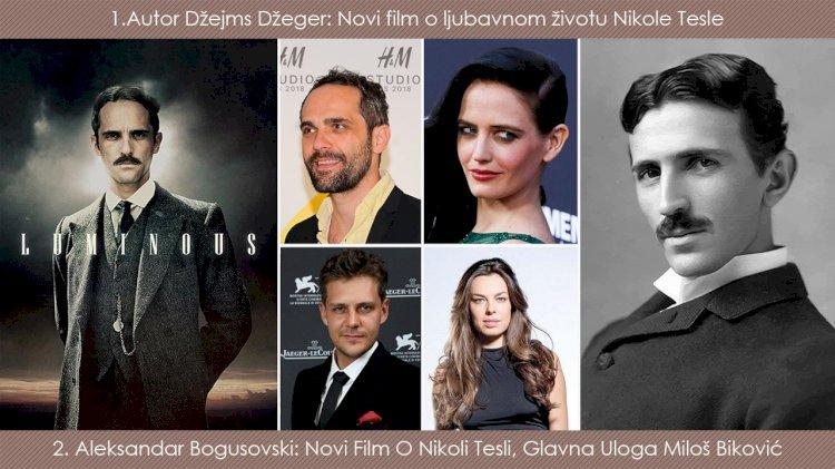 Srpski glumci i holivudski glumci u tri filma o Nikoli Tesli