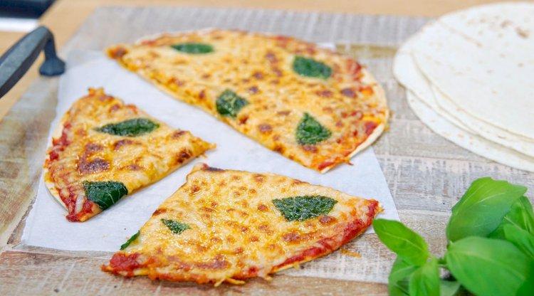 Tortilja pizza recept