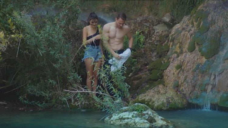 Serkan i Eda i romantični trenuci pod vodopadom - rađa li se ljubav?