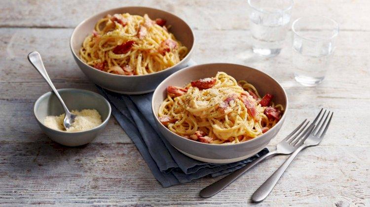 Povoljni špageti karbonara
