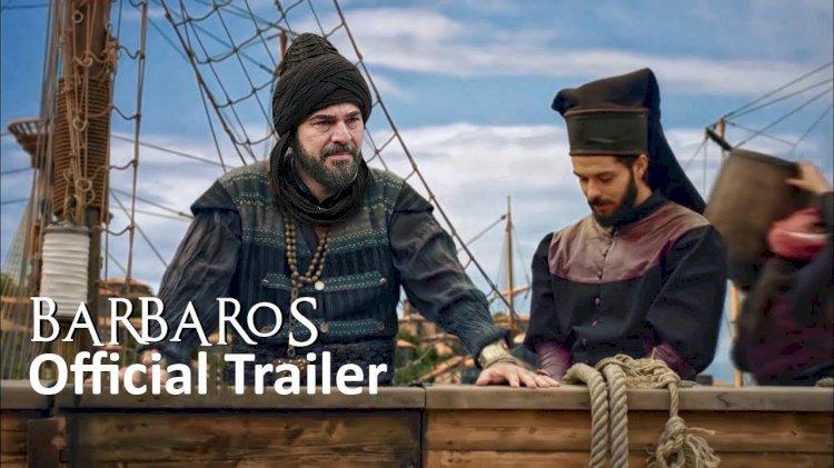 Snimanje kadrova serije Barbaros krajem godine