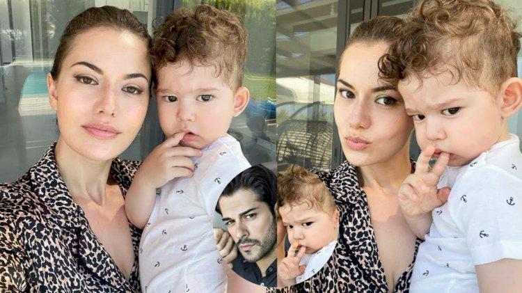 Prelepe slike Fahriye Evcen i njenog sina Karana (FOTO)