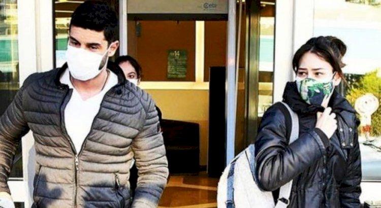 Berk Oktay i Yildiz Cagri Atiksoy posetili bolnicu