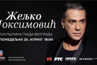 Uživo prenos koncerta Željka Joksimovića